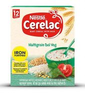 Baby Cereal with Milk (Nestle Multigrains Dal Veg)