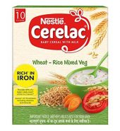 Baby cerelac wheat- rice mixed fruit ( 10 months )