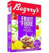 Bagrry's Muesli Mixed Fruits with Almonds & Raisins(box)