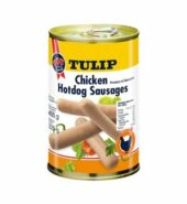 Tulip chicken hot dog sausages 200g