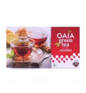 Gaia Green Tea with Assorted