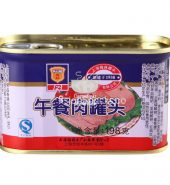 Canned pork luncheon meat 198g