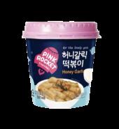 Pink Rocket Toppokki (Honey Garlic)