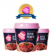 Pink Rocket Toppokki Cup (Tomato)