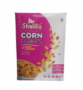 Shanti's corn flakes with Rose Almond 375gm