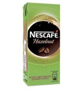 Nescafe Hazelnut coffee & milk