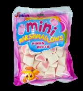 Mini Marshmallows Pink & White 200g.